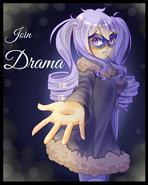 Плакат клуба драмы (старый)