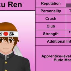 Terceiro perfil de Juku.
