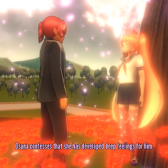 Osana confesses to Kyuji.