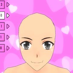 Hair Style #0 (Bald)