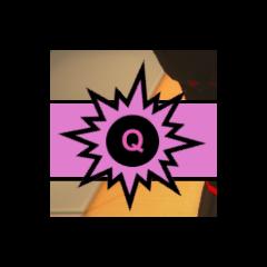 Botão Q para o teclado