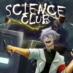 Poster actual del Club de Ciencia ubicado en la zona de los casilleros. Este poster fue dibujado por la artista <a rel=