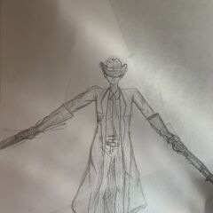 Full body Dr clef drawing, not as good as the other one but i still love it.