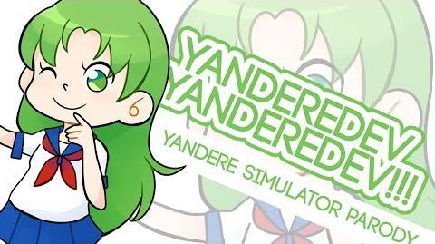YANDEREDEV YANDEREDEV!!! (Yandere Simulator Parody Song) мσм0кι-0