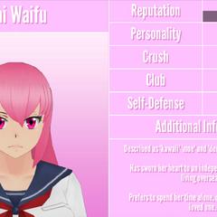 Mai's 14th profile. April 26th, 2018.