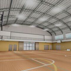 第二版體育館內南側