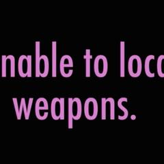 未找到武器