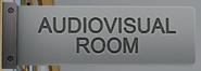 Audiovisuelle Medien-Raum