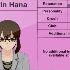 Karin Hana's 3rd profile.