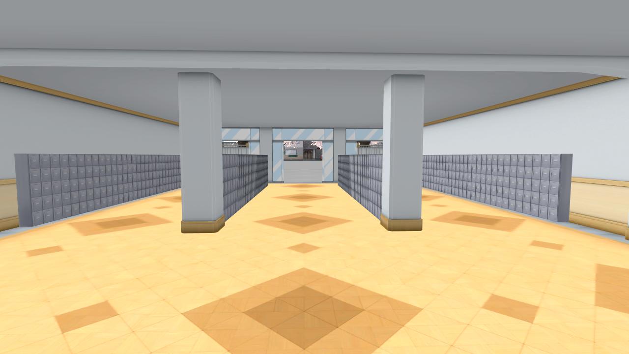 Yandere Simulator Locker Room