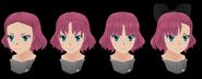 Несколько вариантов причёсок