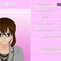 Reina's 8th profile. June 3rd, 2016 (text outline fixed).