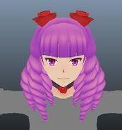 Model jeden z włosów Kizany
