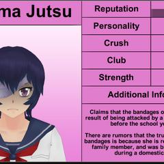 Kokuma's 1st profile.