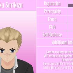Dairoku's 1st profile. April 26th, 2018.