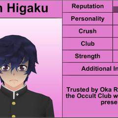 Shin's 1st profile.