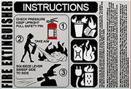 Instrukcja obsługi gaśnicy