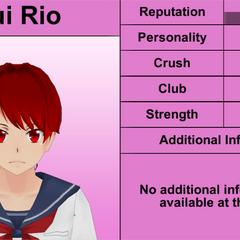 Quinto perfil de Yui.