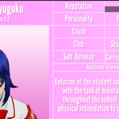 Aoi's 5th profile. June 1st, 2020.
