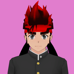 Ryuto Ippongo的原始髮型