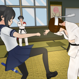 Beating a member of the martial arts club. September 13th, 2018.