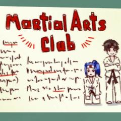Nuevo afiche del Club de Artes Marciales.