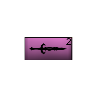 The ritual knife in Ayano's inventory. May 7th, 2016.
