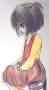 Ayano jako dziecko 1