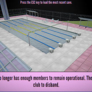The sports club has been disbanded.