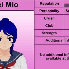 Mei's 8th profile. February 8th, 2016.