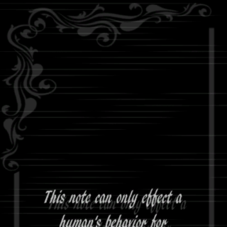 <i>Life Note</i> Volume 5 from the back.