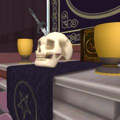 El cuchillo sobre el altar