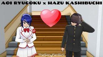 Aoi Ryugoku x Hazu Kashibuchi