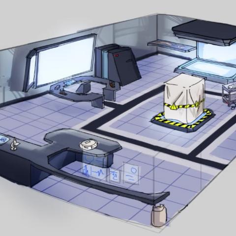 舉例說明社室在未來會看起來像什麼樣子。顯示在影片<a rel=