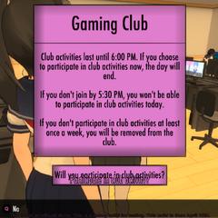 Atividades do Clube