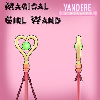 The wand's model by <a rel=
