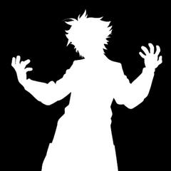 Kaga's silhouette.