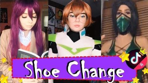 ● Shoe (Costume) Change Cosplay Challenge Top Trending Popular 2018 Musically Tik Tok ShoeChange