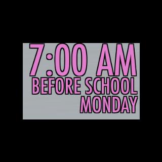 7:00 AM 在學校 [09/10/2015]