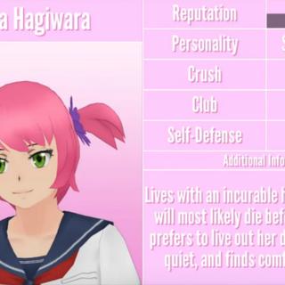 Sakura's 1st profile. July 1st, 2018.