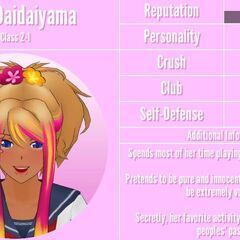 Hana's 2st profile. February 1nd, 2019.