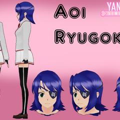 Qvajangel製作,未使用的Aoi髮型