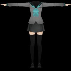 Futuro uniforme, basado en Seraph of the End