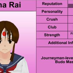 Quarto perfil de Mina.