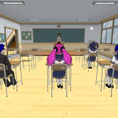 Shiori Risa's class, Class 2-2. February 15th, 2016.