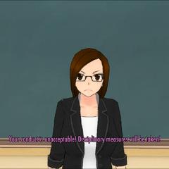 Karin訓導非法侵入的玩家
