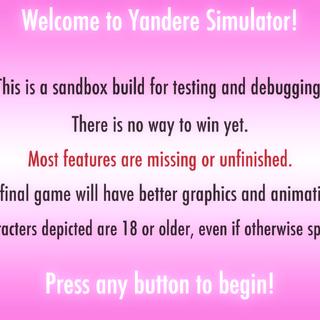 Layar pertama saat ini saat pemain membuka permainan.