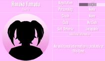 Hanako Yamada Profile March 14th 2020