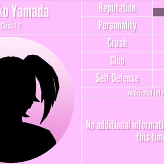 Hanako's 1st silhouette profile. March 14th, 2020.
