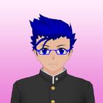 Ryusei Koki w okularach